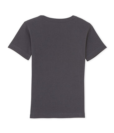 Boy's patterned V-neck tee