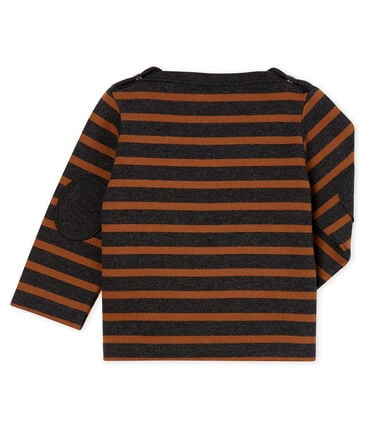 Baby Boys' New Look Sailor Top City black / Cocoa brown