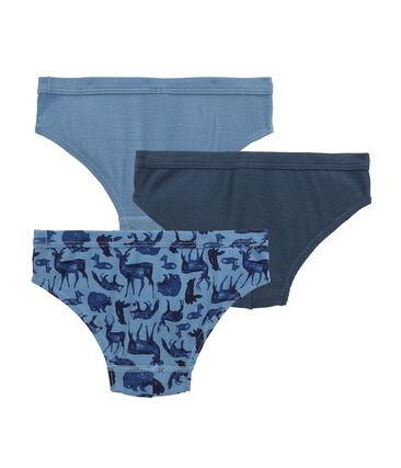 Little boy's pants trio