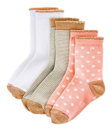 Box of 3 Pairs of Girls' Socks