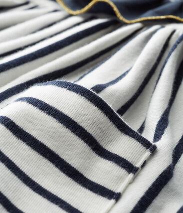 Baby girls' striped dress/bodysuit
