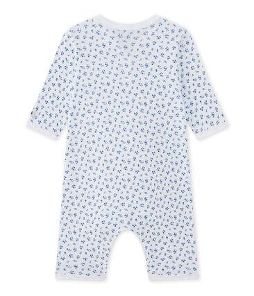 Baby girl's footless sleepsuit