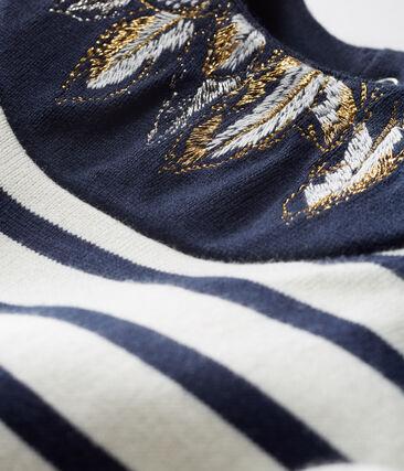 Baby Girls' New Look Sailor Top Coquille beige / Smoking blue