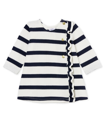 Baby girls' ml breton striped dress