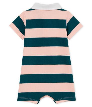Baby boys' striped polo shirt Shortie