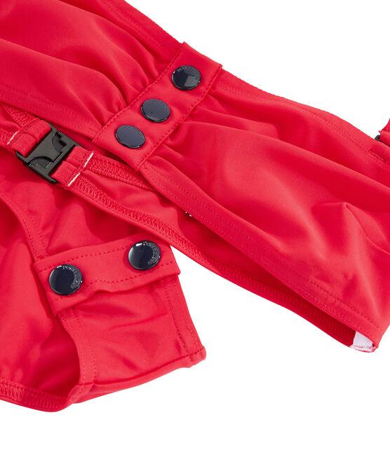Women's Eco-Friendly Bikini Peps red
