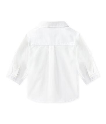 Baby Boys' Formal Shirt Ecume white