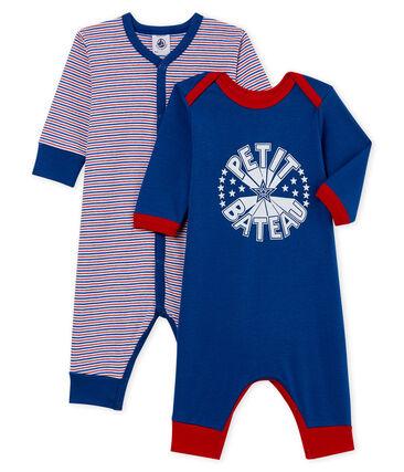 Baby Boys' Footless Sleepsuit - Set of 2