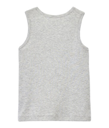 Boy's tank top with breast pocket