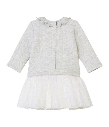 Baby Girls' 2 in 1 Long-Sleeved Dress
