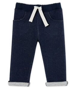 Baby Boys' Fleece Trousers Smoking blue