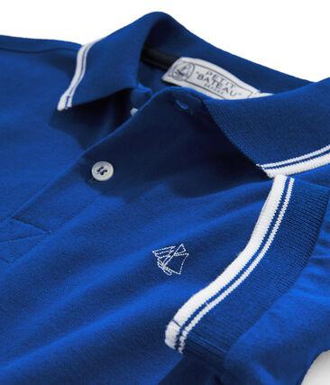 Boys' Polo Shirt Surf blue