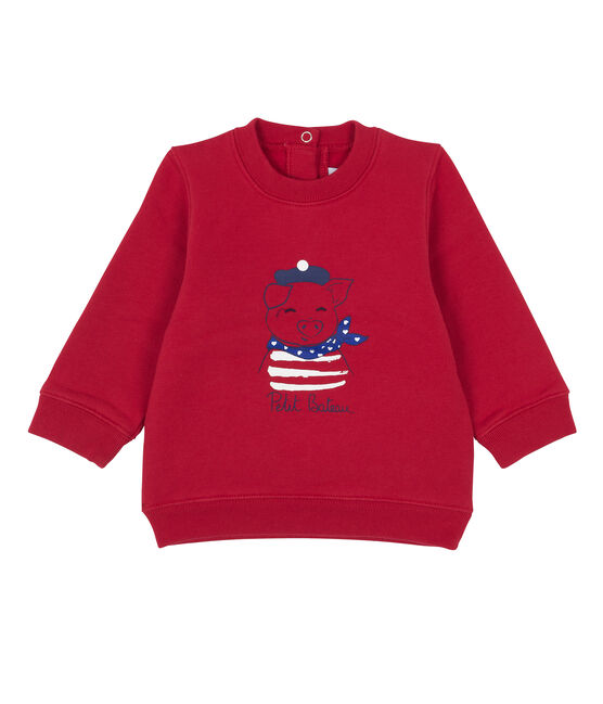 Unisex Babies' Sweatshirt Terkuit red
