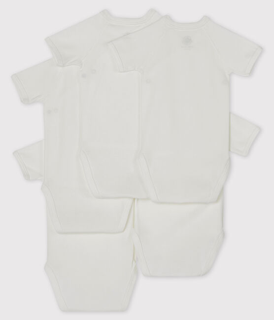 Newborn Babies' Short-Sleeved Bodysuit - 5-Piece Set . set