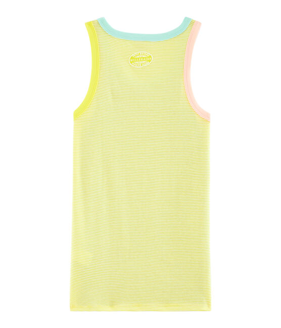 Women's Iconic Vest Multico white