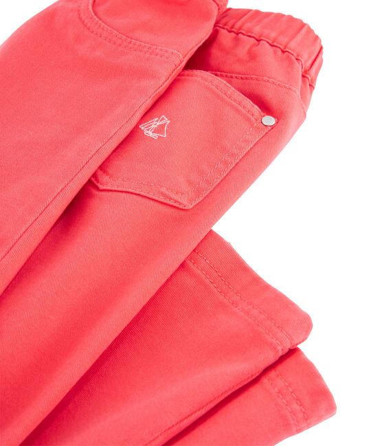 Girls Slim-fit Stretch Jeans Groseiller pink