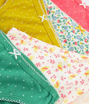 Girls' pants - Set of 5 . set