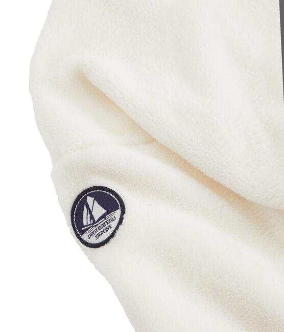 Boys' Sheepskin Fleece Sweatshirt Marshmallow white
