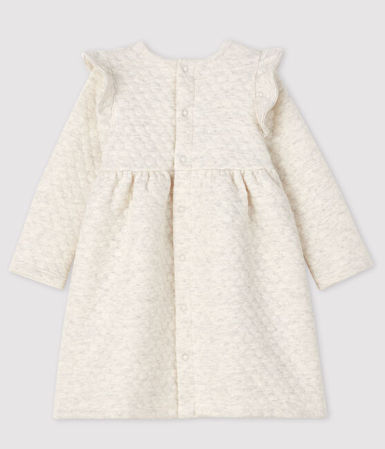 Baby girl's long-sleeved dress Montelimar Chine grey
