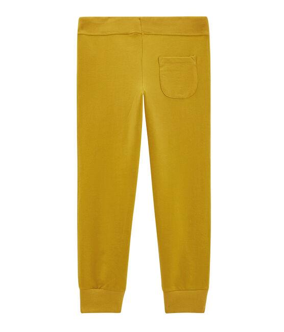 Boys' Trousers Bamboo yellow