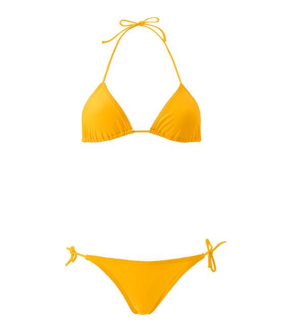 Women's plain bikini Fusion orange
