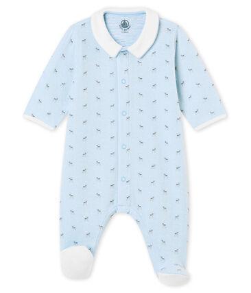 Baby boy's print tubic sleepsuit