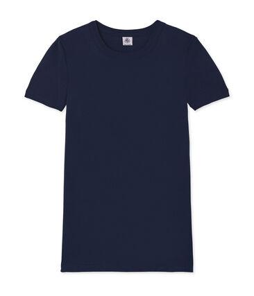 Women's Short-Sleeved Iconic T-Shirt Smoking blue