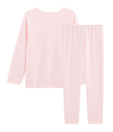 Girls' Pyjamas in Extra Warm Brushed Terry Towelling
