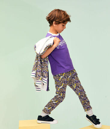 Boys' T-Shirt Real purple