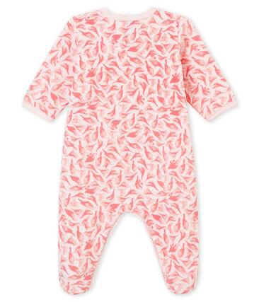 Baby girl's sleepsuit