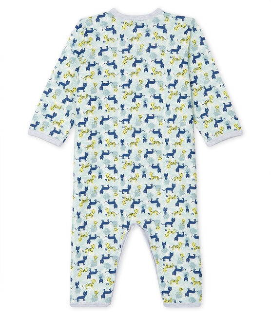 Baby Boys' Footless Ribbed Sleepsuit Marshmallow white / Multico white