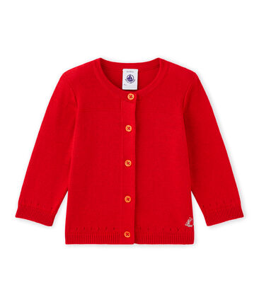 Baby girl's cotton cardigan