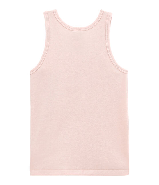 Little girl's vest top in wool and cotton JOLI