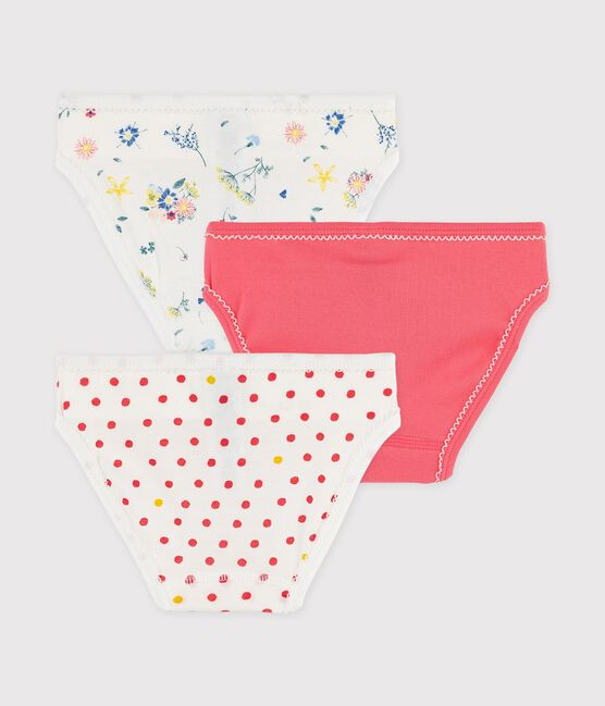 Girls' Floral Print Knickers - 3-Pack . set