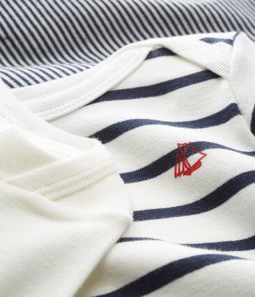Unisex Babies' Long-Sleeved Bodysuit - Set of 3