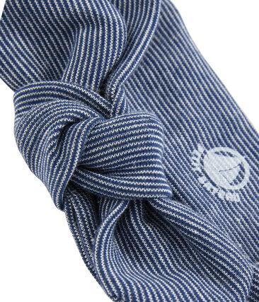 Girls' Hairband Marshmallow white / Smoking blue