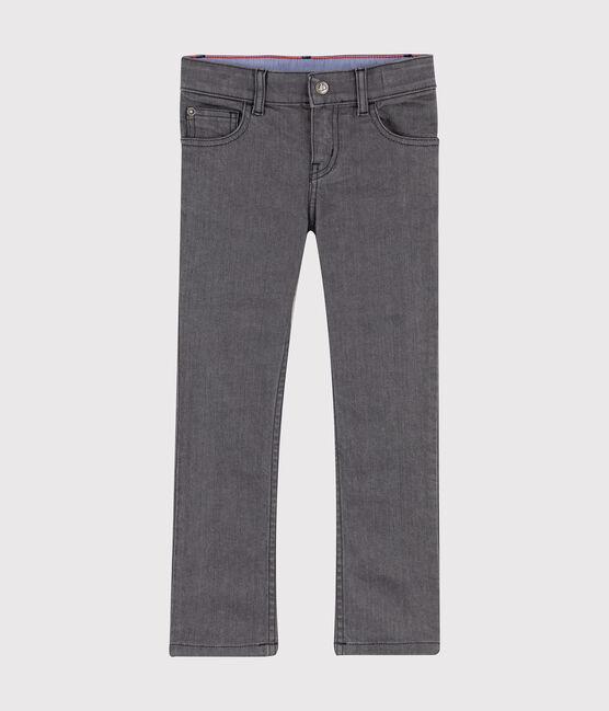 Boys' Denim Trousers GRIS MOYEN