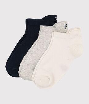 Children's Unisex Ankle Socks - 3-Pack . set