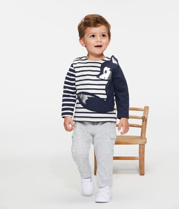 Baby Boys' New Look Sailor Top Coquille beige / Smoking blue
