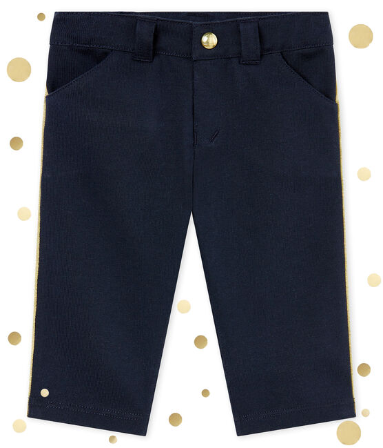 Baby boy's soft trousers Smoking blue
