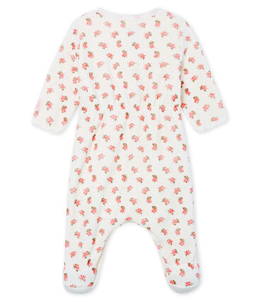Baby Girls' Velour Bodyjama