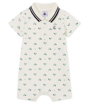 Baby boys' printed polo shirt Shortie
