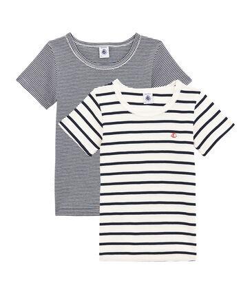 Girls' Short-sleeved T-shirt - Set of 2