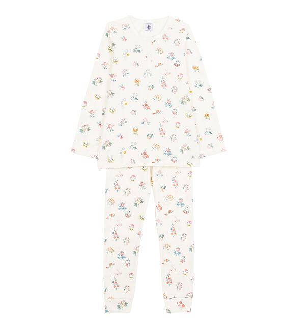 Girls Pyjamas Marshmallow white / Multico white