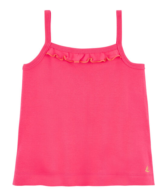 Girls' Vest Geisha red