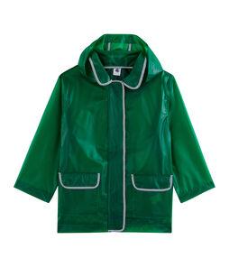 Unisex Children's Waxed Coat Prado green