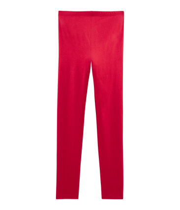 Girls' Leggings Terkuit red
