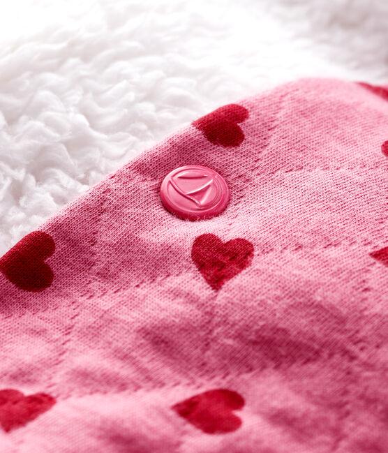Baby girl's tubular knit cardigan CHEEK/TERKUIT