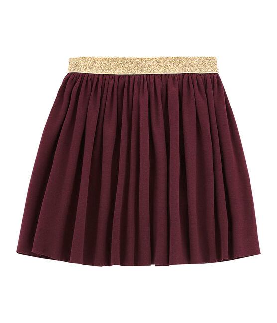 Shiny skirt Ogre red