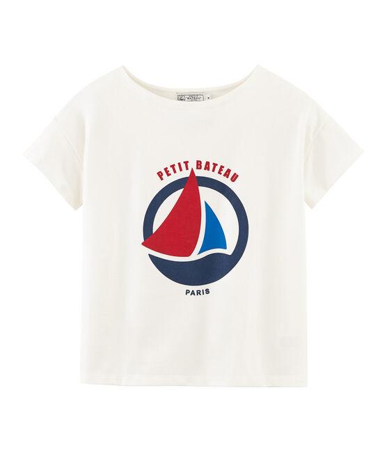 Women's short-sleeved t-shirt Marshmallow white